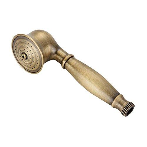 Preisvergleich Produktbild DDY Hochdruck-Handheld-Duschkopf Antik-Messing Energie sparen Telefon geformt