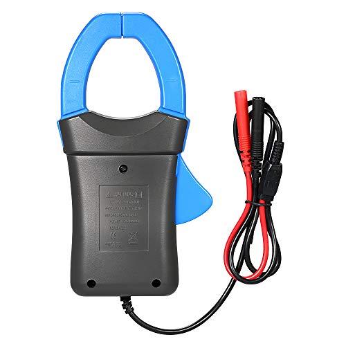 Fesjoy Stromzange, Digital Clamp Meter Stromzangenadapter, Berührungsloser Multimeter 600A DC/AC Stromzangenadapter Messadapter mit Prüfspitzen Messzange Ac Digital Clamp Meter