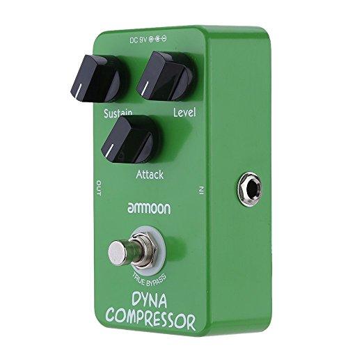 Ammoon AP-05 Dinámica Compresor Guitarra Efectos