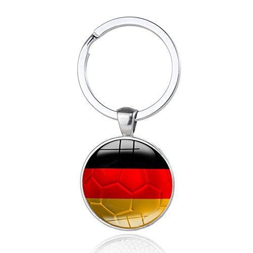 Schlüsselanhänger 2018 WM Weltmeisterschaft Deutschland Flag Fußball Glücksbringer Schlüssel - Fußball Inspirierende