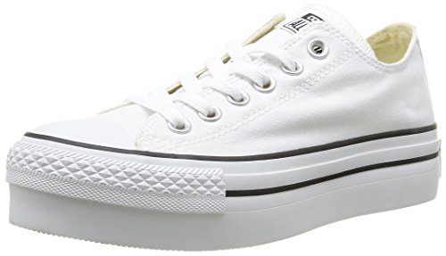 Converse A/S Ox Platform Canvas, Zapatillas para Mujer
