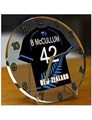 International cricket Jersey Desktop relojes–Número de cualquier nombre, cualquier, Cualquier Team–Personalización Gratuita., hombre mujer Infantil, New Zealand International Cricket Team