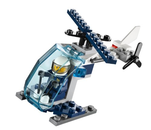 LEGO City: Polizia Elicottero Set 30222 (Insaccato)