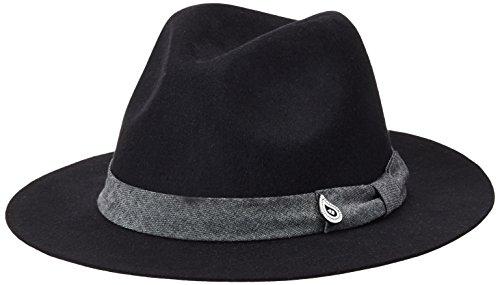 Maison Scotch Felted Hat, Berretti a Maglia Donna, Schwarz (Black 08), Taglia Unica