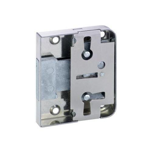 1 Stück Riegelschloss 772 mit 3 Zuhaltungen zum Aufschrauben rs/ls mit 1 Schlüssel Dorn 25 mm 0772 25002