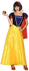 Atosa-39375 Disfraz Princesa de Cuento, Color Amarillo, XS-S (39375)