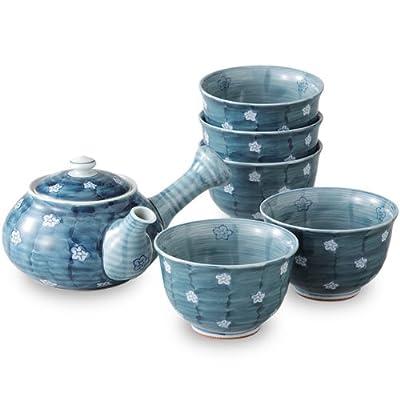 Service à thé japonais Donabe Ware Naigaidamiume (Théière 1tasse/5)