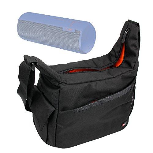 DURAGADGET Bolsa / Bandolera Para Logitech UE MegaBoom / Boom / MiniBoom - Con Bolsillos Y Compartimentos