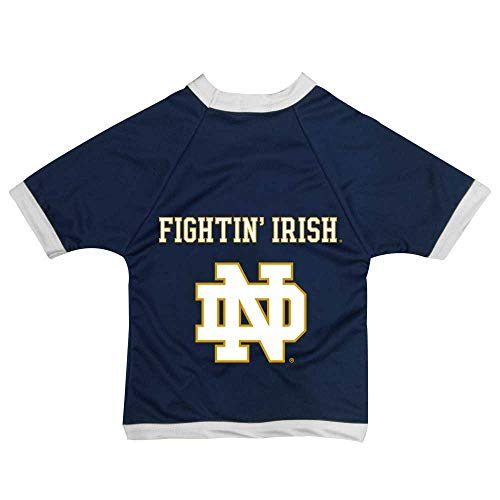 All Star Dogs NCAA Hunde-Trikot Notre Dame Fighting Irish Athletic Mesh, Large -