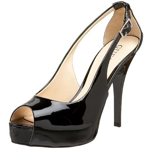 Chaussures Femme Guess - Guess Hondo3 Femmes Noir Chaussures Pompes Pointure