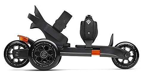 Cardiff Sport Technologies S1-001 Strap-On Skates EU Size 36-46 Black/Red