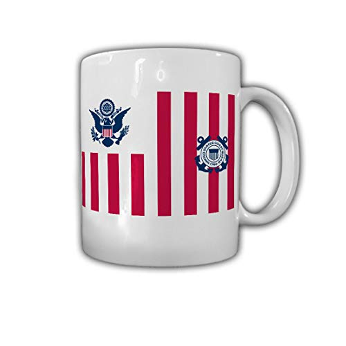 Coast Guard Abzeichen US USA Amerika Wappen Emblem - Tasse #26825 (Guard Emblem Coast)