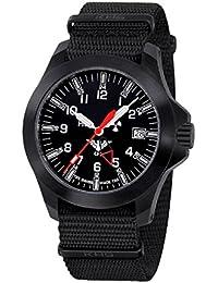 KHS Uhren Herrenuhr Black Platoon LDR KHS.BPLDR.NB