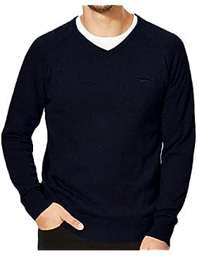 Slazenger Seve - maglioncino da uomo - collo a V