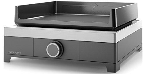 Forge Adour - Modern g45a - Plancha gaz 5000w Plaque Fonte émaillé 44.5x41cm