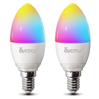 ampoule intelligente led avatar controls ampoule wifi e14. Black Bedroom Furniture Sets. Home Design Ideas