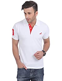 AMERICAN CREW Men's Cotton Blend Polo TShirt
