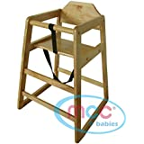 mcc natural stackable wooden baby highchair high chair home u0026 commercial restaurants