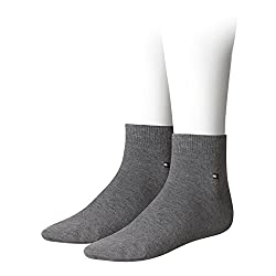 Tommy Hilfiger Men's Flag Quartersocken Quarter Socks Pack Of 8