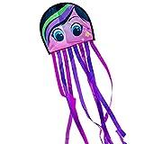 CIM Kinderdrachen - DRAKI XL Fashion Girl - Drachen Abmessungen: 31 x 180cm - inkl. 40m Drachenschnur auf Handgriff - für Kinder ab 3 Jahren