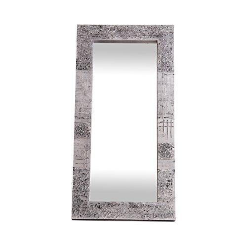 Lohoart L-1267-2 - Espejo Sobre Lienzo Pintado Artesanal