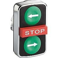 Schneider elec pic - mss 40 32 - Cabeza pulsador triple blanco verde flechas derecha izquierda/o
