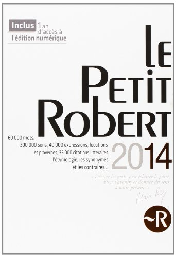 PETIT ROBERT LANGUE FSE 2014