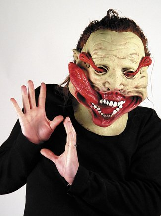 G Force Maske Halloween Kostueme Maske Gesicht Maske Over-the-Head-Maske Kostuem Stuetze Scary Creepy Schreckliche Maske Latex Maske fuer Maskerade Make-up Party