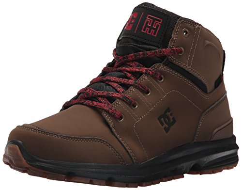 DC Shoes Mens Torstein Mountain Boots Hi Top Shoes Brown DCC