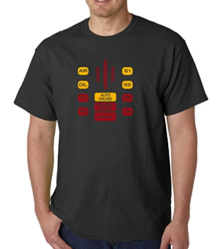 Kitt Knight Rider Dashboard T-shirt for Men - S to XXL