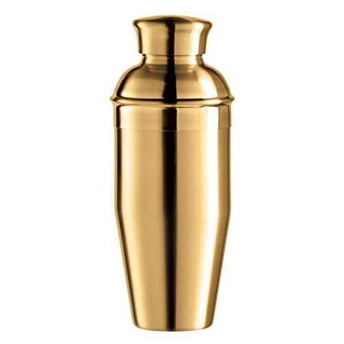 Oggi vergoldet Spiegel Finish Cocktail-Shaker aus Edelstahl, 0,75l/26oz, Titan Oggi Shaker