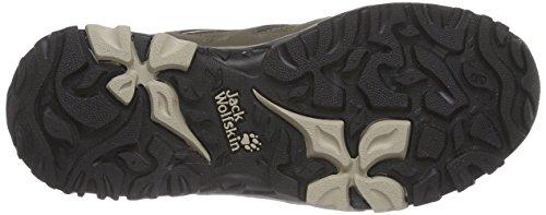 Jack Wolfskin Mtn Storm Texapore Low W, Chaussures de Randonnée Basses Femme Beige (Sahara 5122)