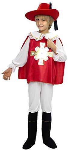 Imagen de disfraz mosquetero para niño de 4 6 años