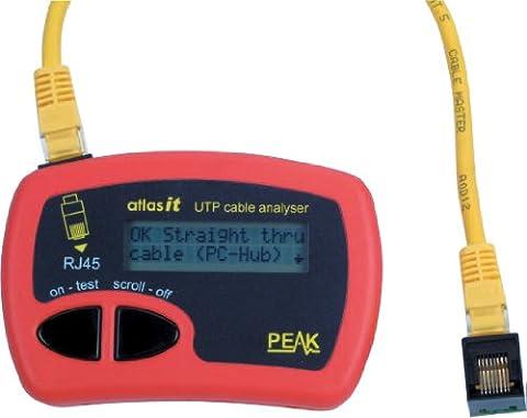 PEAK ATLAS IT NETWORK LAN CAT5/6 CABLE TESTER ANALYSER