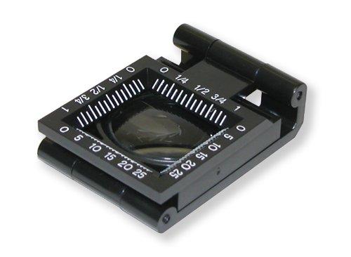 Carson LT-30 LinenTest Fadenzähler 5-fach Lupe (20 mm)