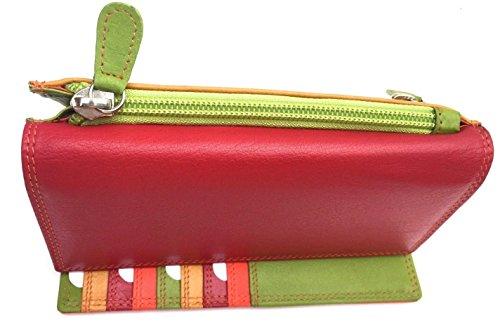 Golunski 7-118, Graffiti pelle Super morbida, multicolore, borse e portafogli. midnight Spezie
