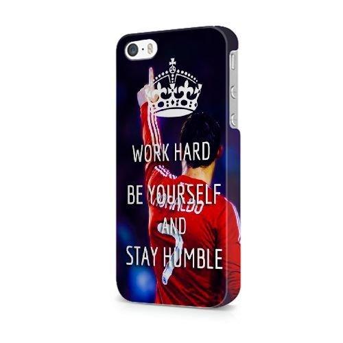 iPhone 5/5S/SE coque, Bretfly Nelson® COLDPLAY Série Plastique Snap-On coque Peau Cover pour iPhone 5/5S/SE KOOHOFD918847 CR7 RONALDO - 014