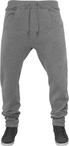 urban classics Deep Crotch Sweatpant Grey