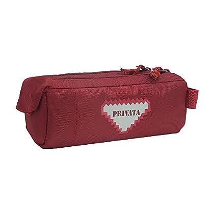Privata – Portatodo doble Privata Premium rojo, color Rojo