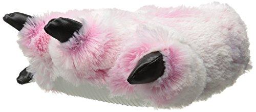 Wishpets , Damen Hausschuhe Pink Pink w/ White Toes Rose