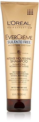 L'Oreal Paris EverCreme Sulfate-Free Moisture System Intense Nourishing Shampoo, 8.5 Fluid Ounce by L'Oreal Paris