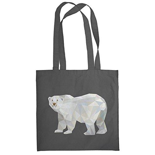 texlab-poly-polar-bear-stoffbeutel-grau