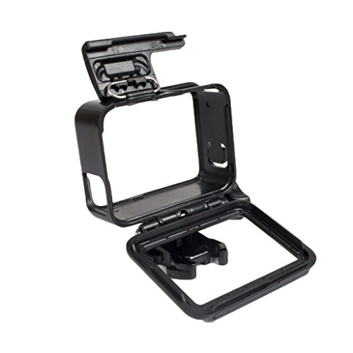 Segolike Anti-Scratch Protective Housing Frame Case w/ Mount Base for GoPro Hero 5 Camera