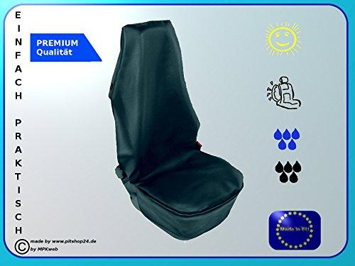 Schonbezug Sitzschoner - Werkstatt Sitzbezug. Langlebige Kunstleder mit zwei Befestigungshaken Wasserdicht und Ölbeständig.Geeignet für Sitze mit Air Bag.