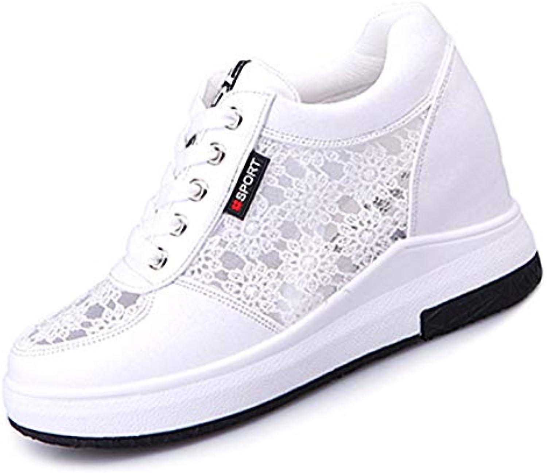 ZHZNVX Scarpe da Donna PU (Poliuretano) (Poliuretano) (Poliuretano) Estate Comfort scarpe da ginnastica Tacco Piatto Punta Tonda Bianco Nero, Bianco,... | Numeroso Nella Varietà  c44edb