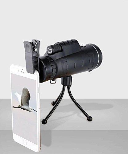 IW Handy-Kamera-teleskop 40x60 High-Power-Dual-Bin Monokular-teleskop Outdoor-teleskop-anblick,40X60