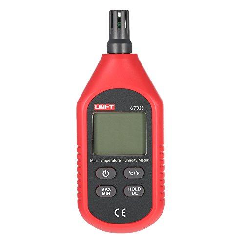 UNI-T ut333 °C/° F portable intérieur Mini Digital de la température humidité compteur thermomètre hygromètre avec affichage Max Min valeur