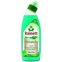 Rainett Produit d'Entretien Gel WC Menthe Ecologique 750 ml Lot de 3