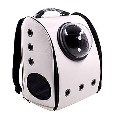Space Capsule Bubble, Bolso de Viaje para los Hombros de la Guardia, Bolso Suave y Transpirable de Gato y Bandolera, Bolso Perros Gatos Petite Pets por FLHLH.CO