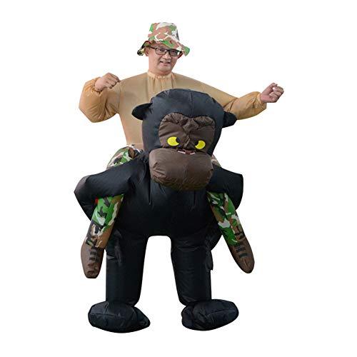 Fuß Schimpanse Kostüm - ZYJFP Halloween Aufblasbar Kostüm,Schimpanse Cosplay Mit Erwachsener,Für Szene Atmosphäre Requisiten